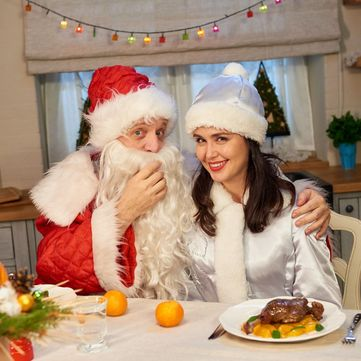 Заради смачної новорічної страви Людмила Барбір стала масажисткою