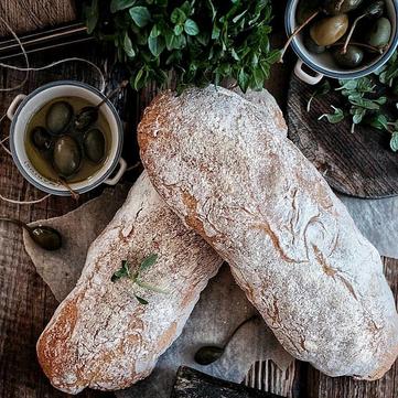 Рецепти Сенічкіна: Запечена чіабатта з овочами