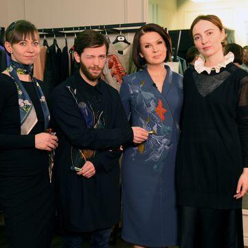 Алла Мазур підтримає українських дизайнерів і вийде в ефір «ТСН. Тиждень» у вишитій дизайнерській сукні