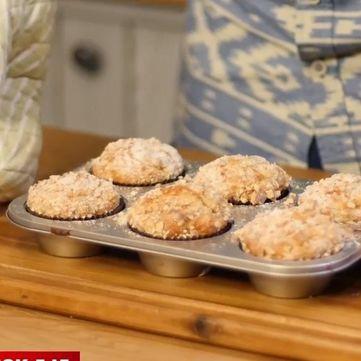 Рецепт солодких кексів з бананом і вівсянкою