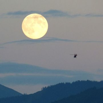 Можливості та небезпеки місячного затемнення