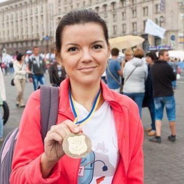 Марічка Падалко: Мати і дружина, яка біжить марафон