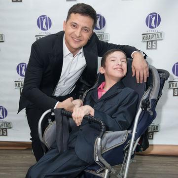 Лідія Таран і актори студії «Квартал 95» здійснили мрію важкохворого хлопчика (відео)