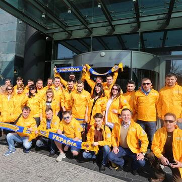 У Збірної України з футболу з'явилася найбільша в історії фан-підтримка