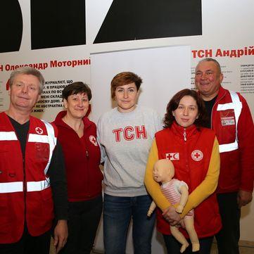 «Музей Новин» побив рекорд відвідуваності під час спеціального курсу по наданню першої медичної допомоги для журналістів