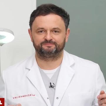 Ростислав Валіхновський розповів, як лікувати опіки