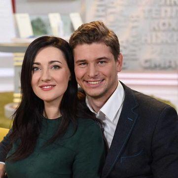 Щасливі та амбіційні: Соломія Вітвіцька та Влад Кочатков про знайомство, весілля та сімейні традиції
