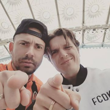 Анатолій Анатоліч знявся у кумедному ролику на підтримку ФК «Динамо»