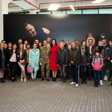 Соломія Вітвіцька чекає на гостей виставки «Переможці»