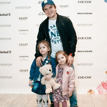 Анатолій Анатоліч на фестивалі Intertop Shopping Fest показав, як виросли його доньки
