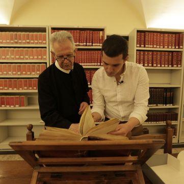 Команда проекту «Україна. Повернення своєї історії» потрапила до секретного архіву Ватикану