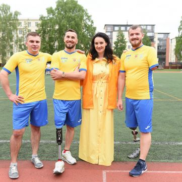 Як «Переможці» вітали Україну з перемогою над Фінляндією