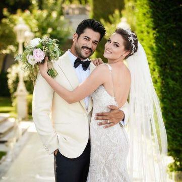 Де Бурак Озчивіт і Фахріє Евджен проводять весільну подорож (фото)