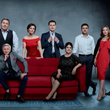 Улюблені актори призначають побачення глядачам «1+1»