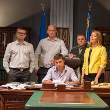 Слуга народу Президент Голобородько – тепер у соцмережах