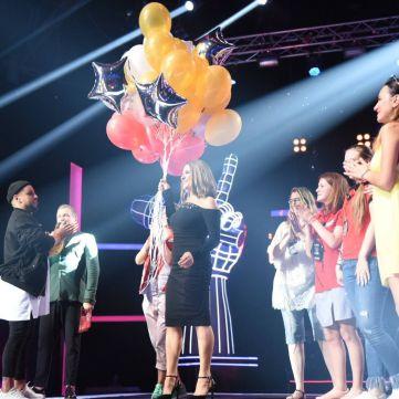 Наталя Могилевська відсвяткувала свій день народження на знімальному майданчику «Голосу. Діти»