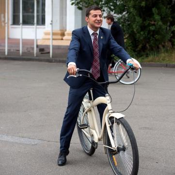 Володимир Зеленський схуднув на 6 кг заради ролі