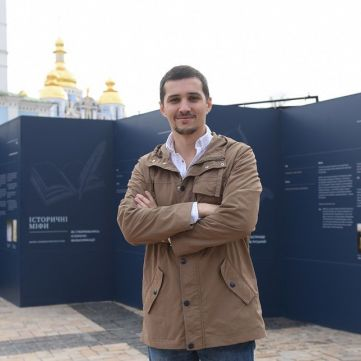 Акім Галімов розповів, як відтворювали обличчя Ярослава Мудрого для фільму «Україна. Повернення своєї історії»