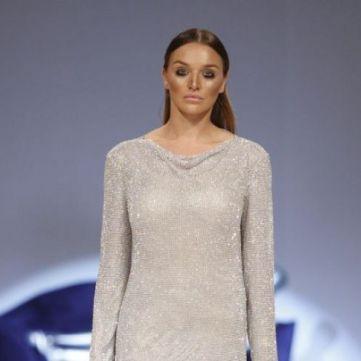 Донька Михайла Добкіна вийшла на подіум в Українського тижня моди в ролі