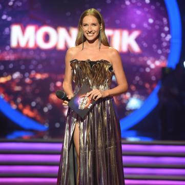 Катя Осадча обрала сукню від українського дизайнера для паркету «Танців з зірками»