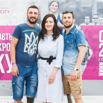 Вітвіцька, Гордєєв та Сеітаблаєв візьмуть участь у благодійному забігу