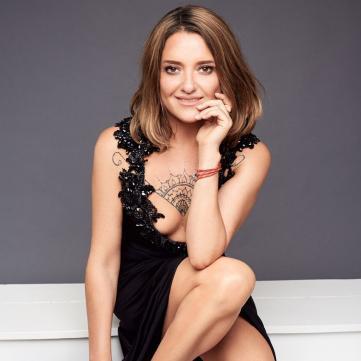 З ким Наталія Могилевська вийшла на паркет у сьомому ефірі Танців з зірками