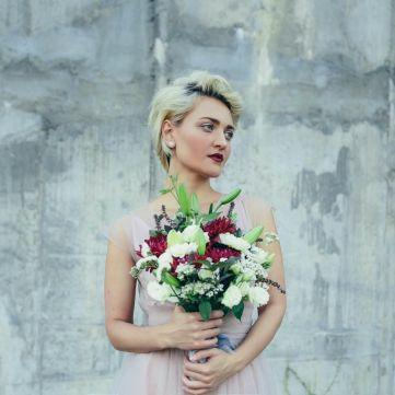 У мережі з'явилося перше фото з весілля зірок Голосу країни Віри Кекелії та Романа Дуди