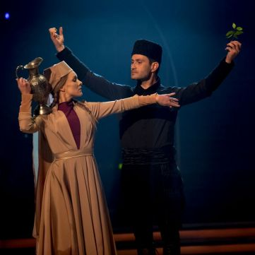 Ахтем Сеітаблаєв заворожив публіку кримськотатарським танцем під хіт Джамали