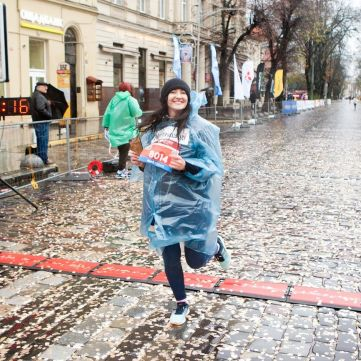Соломія Вітвіцька з ветеранами АТО фінішувала у львівському забігу Переможці