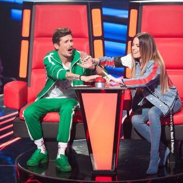 Надя Дорофєєва і Позитив розповіли про конкуренцію між тренерами Голосу. Діти