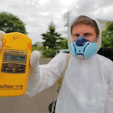 Дмитро Комаров показав, який вигляд має АЕС Фукусіма після аварії