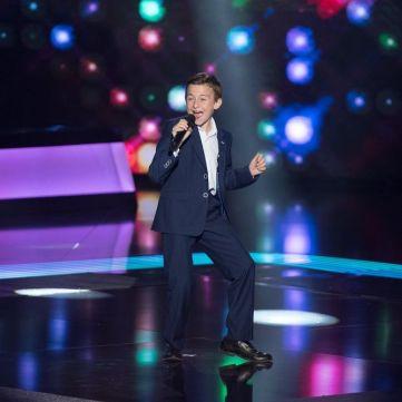Gangnam style по-українськи: Учасник Голосу. Діти-4 дав майстер-клас Руслану Сенічкіну і Нелі Шовкопляс