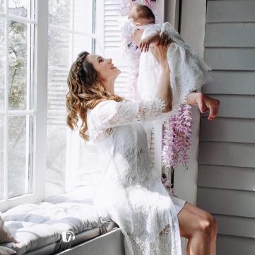 Галина Безрук показала перші кроки своєї доньки (фото)