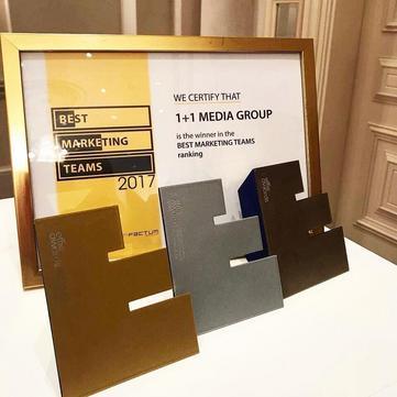 Effie Awards Ukraine 2017: Три нагороди для Музею Новин та відзнака команди маркетингу 1+1 медіа кращою