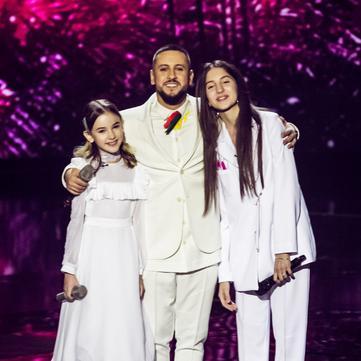 MONATIK презентував пісню з нового альбому на сцені Голосу Діти