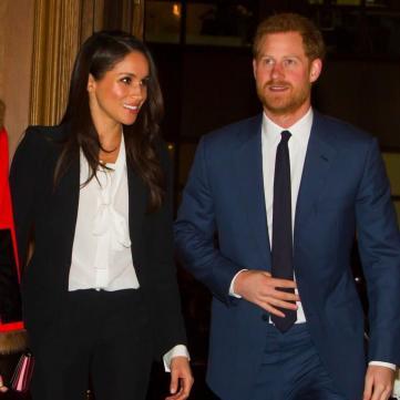 Стали відомі деталі весілля принца Гаррі та Меган Маркл