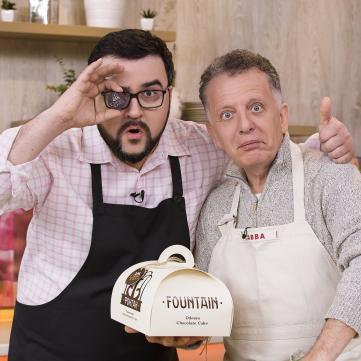 Для прем'єри серіалу Сувенір з Одеси було створено особливий десерт