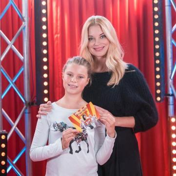 Дочка Лідії Таран виграла 50 тис. грн у «Розсміши коміка. Діти»