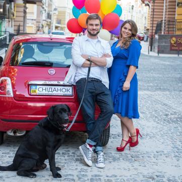 Неля Шовкопляс і Єгор Гордєєв підтримали людей із синдромом Дауна