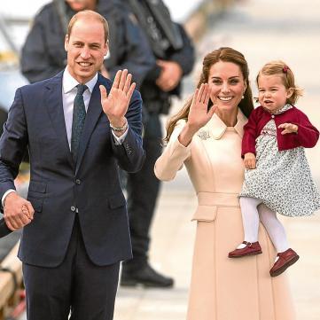 У майбутньої дитини принца Вільяма і Кейт Міддлтон з'явився сайт