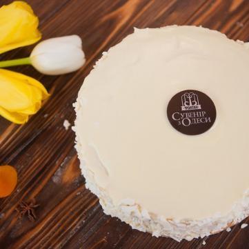 Рецепт торту Сувенір з Одеси
