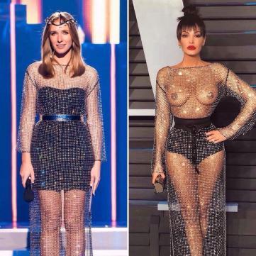 Катя Осадча vs Блеона Кереті: Кому сукня личить більше?