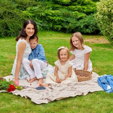 Сімейне дозвілля: Куди ходить з дітьми Валентина Хамайко