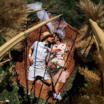 Сергій та Сніжана Бабкіни одружилися через 10 років після вінчання