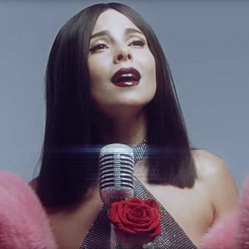 Настя Каменських презентувала звабливе відео на україномовну пісню