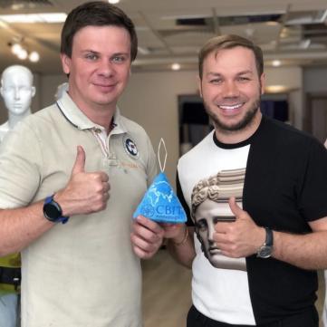 Дмитро Комаров і Андре Тан створили креативний глобус