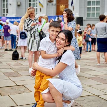 Син Людмили Барбір мріє про братика та сестричку