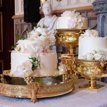 5 свадебных тортов, которые действительно впечатляют