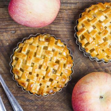яблучний пиріг яблука