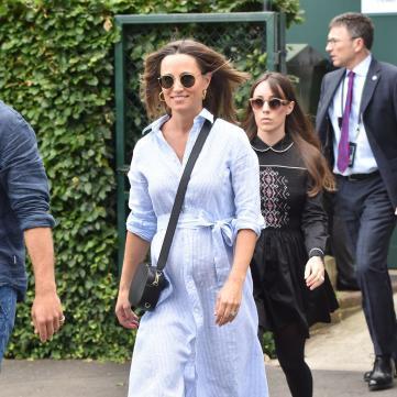 Королевская семья увеличивается: Пиппа Миддлтон родила первенца